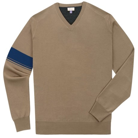Ibex Meridian Light Sweater - Merino Wool-Cashmere (For Men) in Driftwood