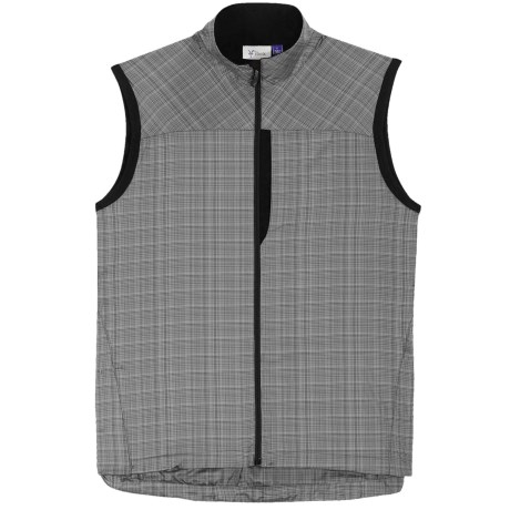 Ibex Momentum Vest - Recycled Materials (For Men) in Black/Grey