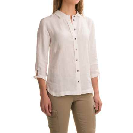 Ibex Nalani Shirt - Hemp, 3/4 Sleeve (For Women) in Birch - Closeouts