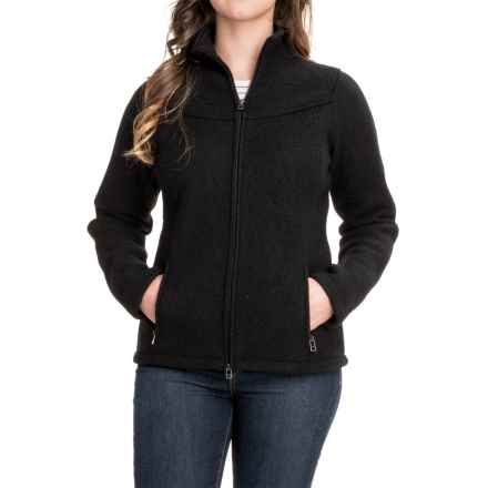 Ibex Nicki Loden Wool Jacket (For Women) in Black - Closeouts