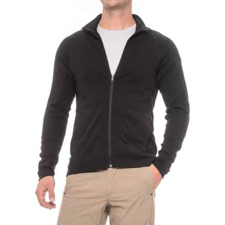 Ibex Northwest Jacket - Merino Wool (For Men) in Black - Closeouts