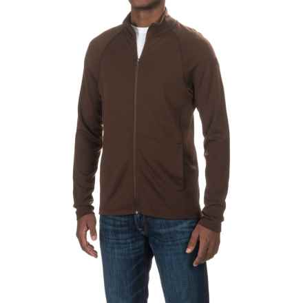 Ibex Northwest Shirt- Merino Wool, Full Zip (For Men) in Archer - Closeouts