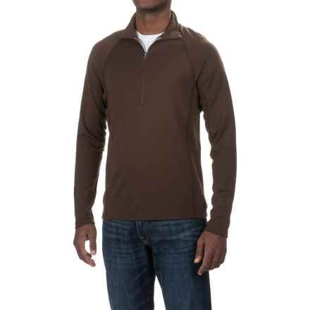Ibex Northwest Shirt - Merino Wool, Zip Neck (For Men) in Archer - Closeouts