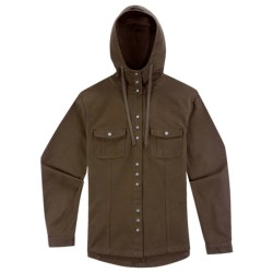 Ibex OC Canvas Hooded Jacket - Organic Cotton (For Women) in Soil