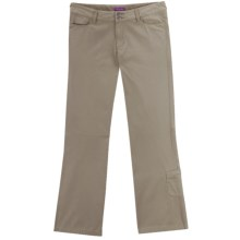Ibex OC Canvas Pants - Organic Cotton, Straight Leg (For Women) in Rope - Closeouts