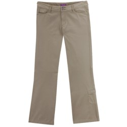 Ibex OC Canvas Pants - Organic Cotton, Straight Leg (For Women) in Rope
