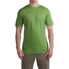 Ibex Overdye Sol T-Shirt - Merino Wool, Short Sleeve (For Men) in Macaw - Closeouts