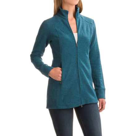 Ibex Reese Tunic Shirt - Merino Wool, Long Sleeve (For Women) in Dragonfly Heather - Closeouts