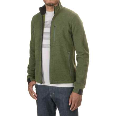 Ibex Scout Jura Merino Wool Jacket (For Men) in Balsam Heather - Closeouts