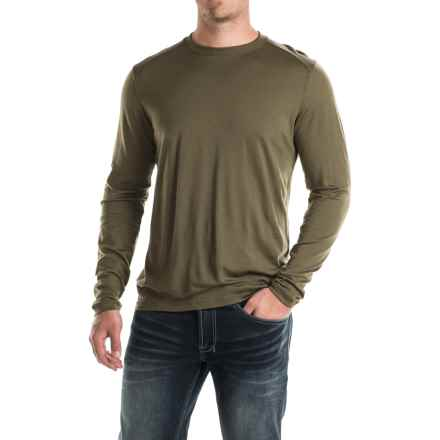Ibex Seventeen.5 Nelson Shirt - Merino Wool, Long Sleeve (For Men) in Acorn - Closeouts