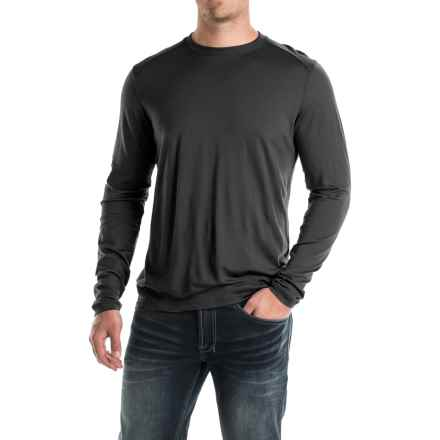 Ibex Seventeen.5 Nelson Shirt - Merino Wool, Long Sleeve (For Men) in Black - Closeouts