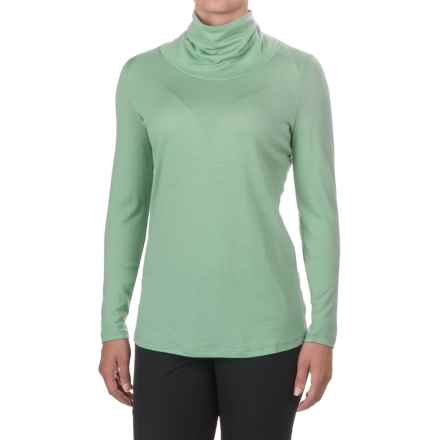 Ibex Seventeen.5 Turtleneck - Merino Wool, Long Sleeve (For Women) in Meadow - Closeouts