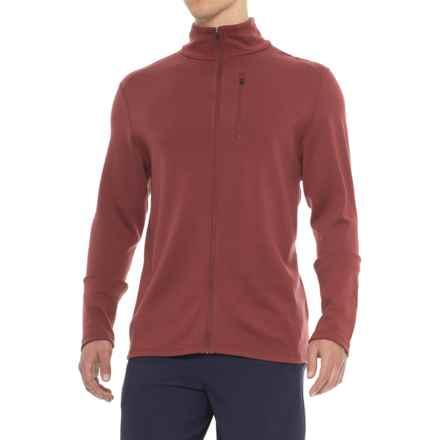 Ibex Shak Jacket - Merino Wool, Full Zip (For Men) in Umber - Closeouts
