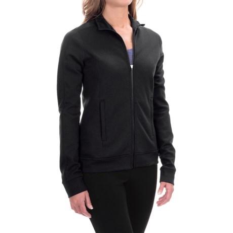 Ibex Shak Traverse Zip Sweatshirt - Merino Wool, Long Sleeve (For Women) in Black