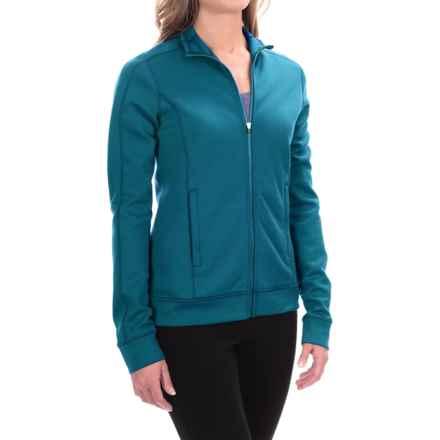 Ibex Shak Traverse Zip Sweatshirt - Merino Wool, Long Sleeve (For Women) in Sparrow - Closeouts