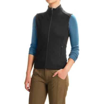 Ibex Shak Vest - Merino Wool (For Women) in Black - Closeouts - Women's Vests: Average Savings Of 49% At Sierra Trading Post