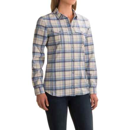Ibex Taos Plaid Shirt - Snap Front, Long Sleeve (For Women) in Alpine Plaid - Closeouts