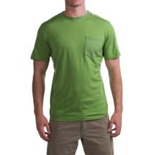 Ibex Tretar T-Shirt - Merino Wool, Short Sleeve (For Men) in Gecko - Closeouts