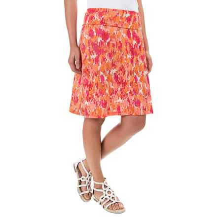 Ibex Voyage Pattern Skirt - Merino Wool (For Women) in Brushes / Daybreak - Closeouts