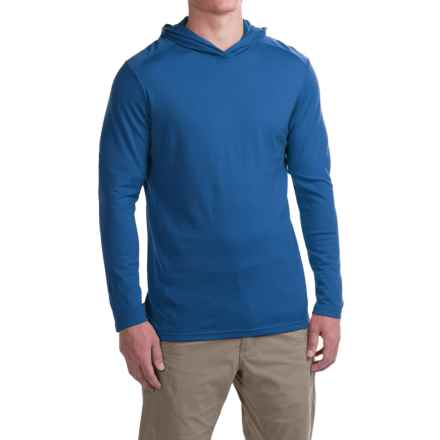 Ibex VT Hoodie - Merino Wool (For Men) in Riptide - Closeouts