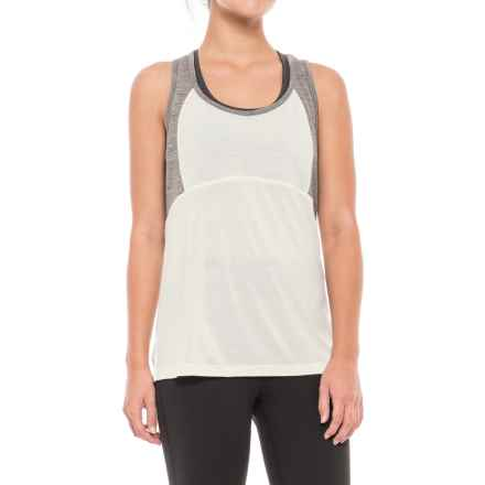 Ibex W2 Racerback Tank Top - Merino Wool (For Women) in Birch - Closeouts