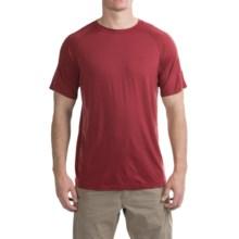 Ibex W2 Sport Basic T-Shirt - Merino Wool, Short Sleeve (For Men) in Aztec - Closeouts
