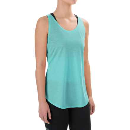 Ibex W2 Sport Tunic Tank Top - Merino Wool (For Women) in Damselfly - Closeouts