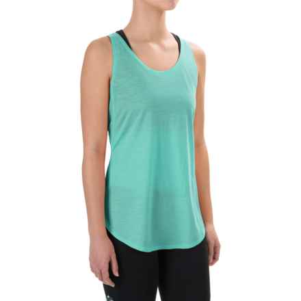 Ibex W2 Sport Tunic Tank Top - Merino Wool (For Women) in Seacrest - Closeouts