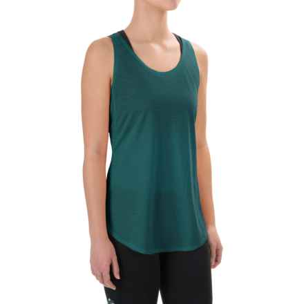 Ibex W2 Sport Tunic Tank Top - Merino Wool (For Women) in Tidal Pool - Closeouts