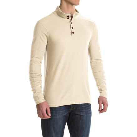 Ibex Waffle-Knit Henley Shirt - Merino Wool, Long Sleeve (For Men) in Birch - Closeouts
