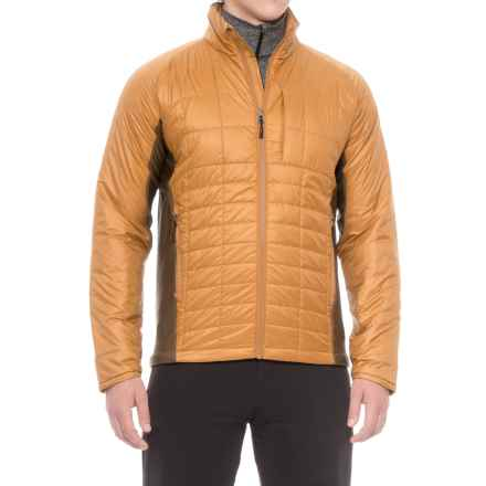 Ibex Wool Aire Matrix Jacket - Wool Insulated (For Men) in Antelope - Closeouts
