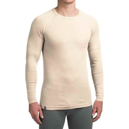 Ibex Woolies 1 Base Layer Top - Crew Neck, Long Sleeve (For Men) in Birch - Closeouts