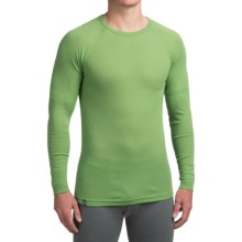 Ibex Woolies 1 Base Layer Top - Crew Neck, Long Sleeve (For Men) in Gecko - Closeouts