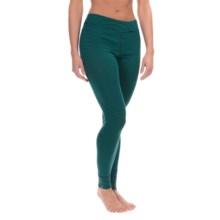 Ibex Woolies 1 Stripe Base Layer Bottoms - Merino Wool, Long Sleeve (For Women) in Juniper/Midnight Stripe - Closeouts