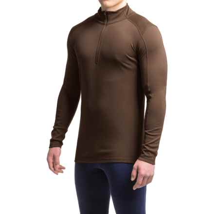 Ibex Woolies 2 Base Layer Top - Merino Wool, Zip Neck, Long Sleeve (For Men) in Archer - Closeouts
