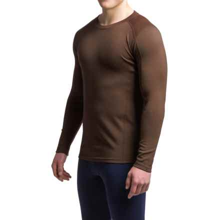 Ibex Woolies 2 Midweight Merino Wool Base Layer Top - Crew Neck (For Men) in Archer - Closeouts