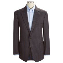 Ibiza Stripe Sport Coat - Wool (For Men) in Brown - Closeouts