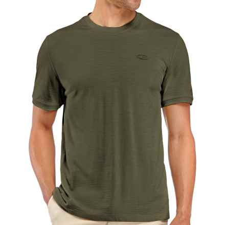 Icebreaker 150 Tech T-Lite Shirt - UPF 30+, Merino Wool, Short Sleeve (For Men) in Cargo - Closeouts