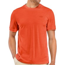 Icebreaker 150 Tech T-Lite Shirt - UPF 30+, Merino Wool, Short Sleeve (For Men) in Heat - Closeouts