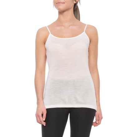 7fe07d3f59 Icebreaker 175 Everyday Camisole - Merino Wool (For Women) in Snow -  Closeouts