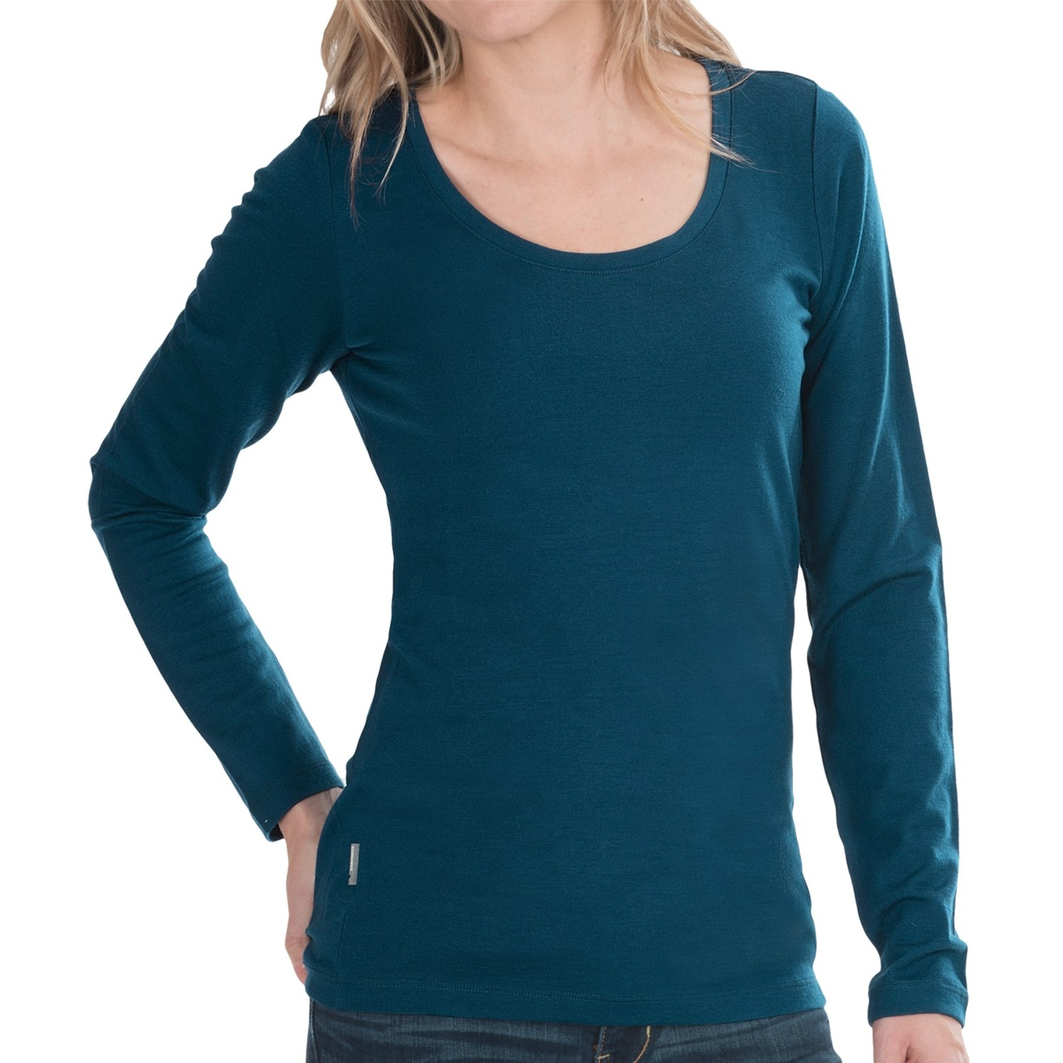 Icebreaker 200 crush shirt merino wool upf 30 long for Merino wool shirt womens