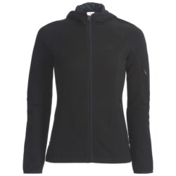 Icebreaker 2013 RF260 Cascade Hooded Jacket - Merino Wool, Full Zip, Long Sleeve (For Women) in Lush