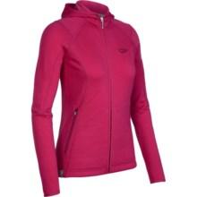 Icebreaker 2013 RF260 Cascade Hooded Jacket - Merino Wool, Full Zip, Long Sleeve (For Women) in Ruby - Closeouts