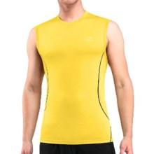 Icebreaker Aero Shirt - Merino Wool, Sleeveless (For Men) in Fuse/Monsoon - Closeouts