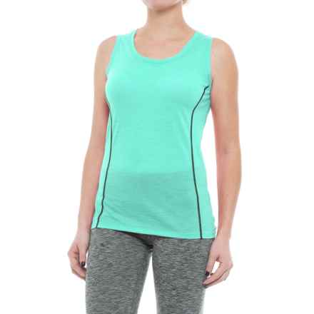 Icebreaker Aero Tank Top - Merino Wool (For Women) in Tasman/Panther - Closeouts
