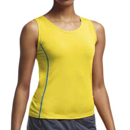 Icebreaker Aero Tank Top - UPF 20+, Merino Wool (For Women) in Fuse/Force - Closeouts
