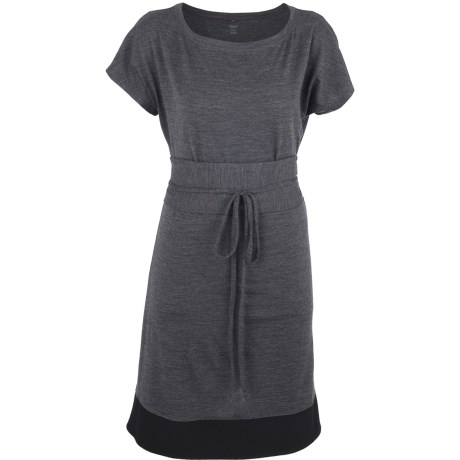 Icebreaker Allure Dress UPF 30+, Merino Wool, Short Sleeve (For Women)
