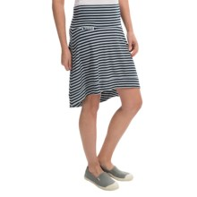Icebreaker Allure Stripe Skirt - UPF 20+, Merino Wool (For Women) in Admiral/Snow - Closeouts