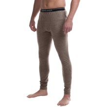 Icebreaker Apex Base Layer Bottoms, Midweight, Merino Wool (For Men) in Trail Heather - Closeouts