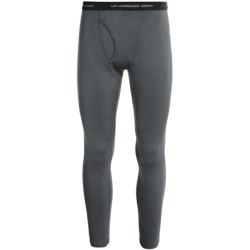 Icebreaker Apex Base Layer Bottoms - UPF 30+, Merino Wool, Built-In Fly (For Men) in Cave